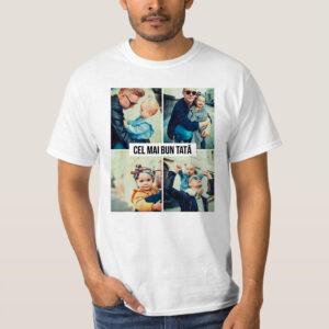 Tricou personalizat - cel mai bun tata