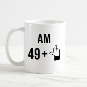 Cana personalizata - am 49 + 1