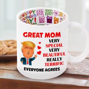 Cana cu mesaj interior - Happy Mother's Day