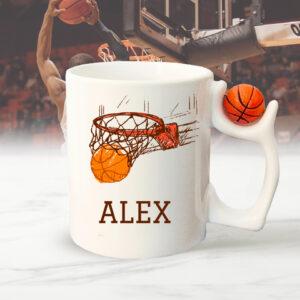 Cana personalizata minge basket