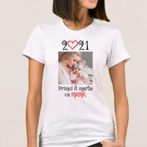 Tricou dama personalizat primul 8 martie