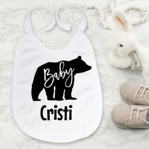 Bavetica personalizata baby bear