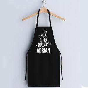 Sort negru personalizat #1 DADDY
