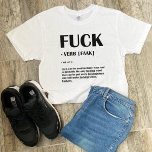 Tricou personalizat Fuck (1)
