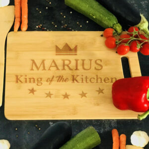 Tocator personalizat King of the kitchen