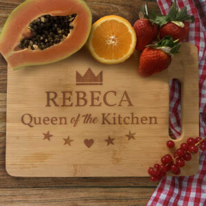 Tocator personalizat Queen of the kitchen