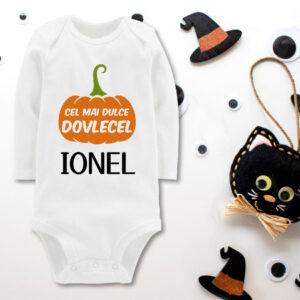 Body copil personalizat de Halloween Cel mai dulce dovlecel